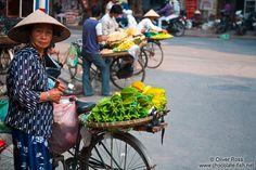 Hanoi fruit vendors