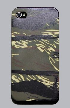 TIGER CAMOUFLAGE WHITE iPhone 4 or 4s Snap Case by WELL ARMED
