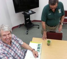 """He says they're weeds!"" George's dream of having an exotic species in his yard is deflated by Master Gardener Tom."