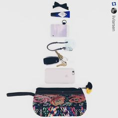 #Repost @livlarsen  Loving my @thread_wallets.  It's the perfect solution for keeping my cards in one place and easily fits in my @nenaandco clutch with room to spare for toddler/baby items that tend to sneak in there too. #tileapp #lostkeys #tracker #tiledit  www.thetileapp.com