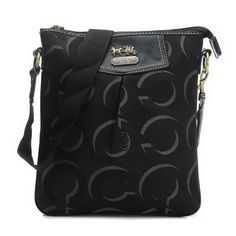 #ChooseEnjoyCoach Coach Swingpack In Signature Medium Black Crossbody Bags CEX Is Competitive In Price To Win More Customers! #spring #jewelry #outfits