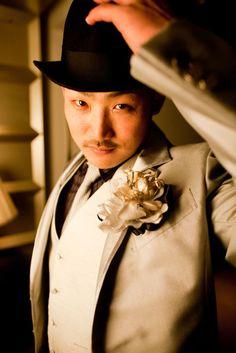 徳島県で結婚フォトの撮影。ホテル・レストランで洋装ロケーションウェディング。