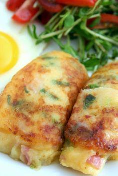 Fried Mashed Potato Breakfast