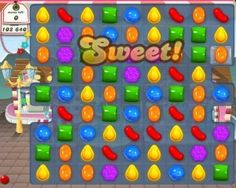 It's quite astonishing that Candy Crush gained a lot of fans. Well, though I'm just a newbie player, I can say that I'm already starting to show the early warning signs of a Candy-Crush-addict.