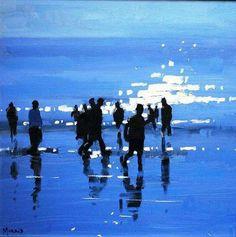 John Morris, artiste peintre irlandais.