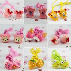 2015 Baby girl's styling tool More cartoon elastic hiar bands headwear  hair accessories for women kids make they cute lovely