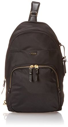 Tumi Voyageur Brive Sling Backpack Black One Size >>> This is an Amazon Affiliate link. Find out more about the great product at the image link.