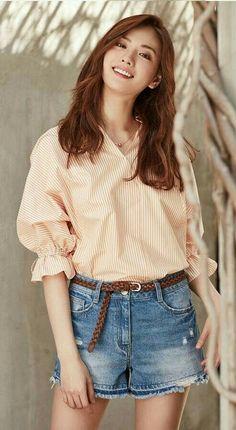 Nana 💗💗💗 for Si Apparel Summer edition 😘 Korean Beauty, Asian Beauty, Asian Woman, Asian Girl, Nana Afterschool, Im Jin Ah Nana, Cute Beauty, Korean Celebrities, Korean Model
