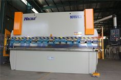 This is our press brake machine WC67Y-63T/3100mm with E21 system controller My mail is Ivy@harsle.com if you have interest, please contact me