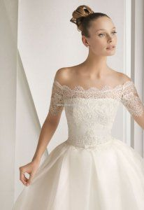 $309.99 Rosa Clara Bridal Gown (2012)  Make it tea length and call it a day