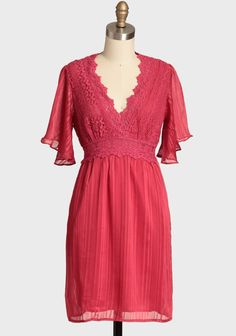 Blushed Beauty Embroidered Dress | Modern Vintage Dresses