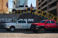 Here's a look at the Ram Trucks display at @ACMparty. #ACMs #GutsGloryRam #ACMparty