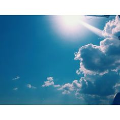 #Goodmorning  #cloud #sun