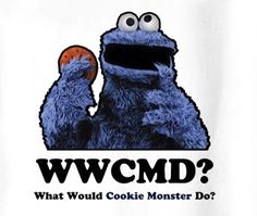 What Would Cookie Monster Do Sesame St T Shirt is available on a White Cotton Tee. The What Would Cookie Monster Do Sesame St T Shirt is available in all sizes which you can select from the shirt size drop down below Like A Boss, Cookie Monster, Cotton Tee, Saints, Cookies, Christmas Ornaments, Holiday Decor, T Shirt, Crack Crackers