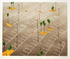 """Pave paradise and put up a parking lot.""   Chris Ballantyne, Parking Lot with Palm Trees"