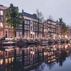 Amsterdam, Netherlands photo credit een_wasbeer
