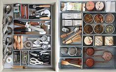 organizing junk drawers