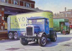 Mike Jeffries TRANSPORT ARTIST | A 1950 Gardner powered Scam… | Flickr