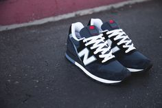 "New Balance ""Made in USA"" 996 - Navy Blue / White"