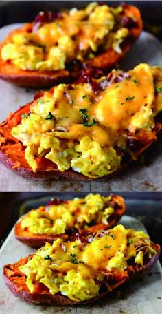 bacon, breakfast, cheese, egg, healthy, peanut, potato, recipes, vegan