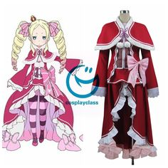 Re: Life In A Different World From Zero Beatrice Cosplay Costume  #rezero #anime #cosplay #beatrice