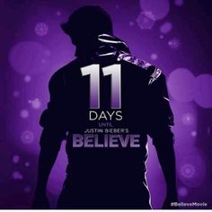 Just 11 more days!! :) #believemovie