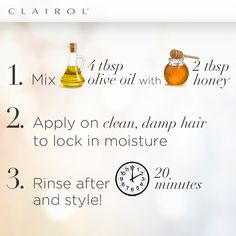 Affordable & natural hair mask! #Clairol #ColorExperts