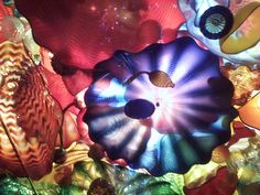 Chihuly Glass Ceiling, Seattle