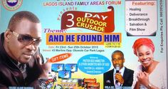 Fuji singer, Wasiu Alabi Pasuma is the surprise special guest artiste at a three-day outdoor cru...