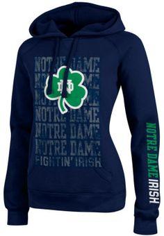 Product: University of Notre Dame Fighting Irish Women's Sport Hooded Sweatshirt
