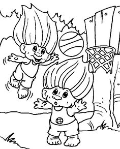 Troll Coloring Pages 010