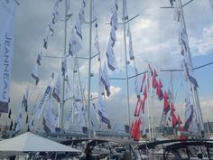 More flags fly at Cannes Yachting Festival 2016 Festival 2016, Cannes, Sailing Ships, Flags, Boat, Search, Dinghy, Searching, National Flag