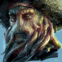 Davy Jones sheet music for grand piano - Hans Zimmer Pirate Art, Pirate Life, Davy Jones' Locker, Assassin's Creed Black, Sea Of Thieves, Fantasy Movies, Pirates Of The Caribbean, Caribbean Art, Movie Wallpapers