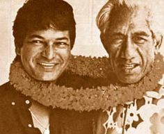 Don Ho and Duke Kahanamoku by EraPhernalia Vintage . . . (playin' hook-y ;o), via Flickr