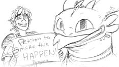 Hiccup and Toothless ^.^ ♡
