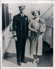 George VI and Queen Elizabeth (The Queen Mother)