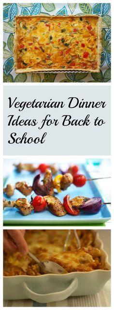 Vegetarian Dinner Ideas For Back to School