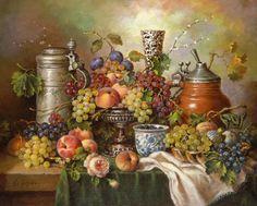 Натюрморты с фруктами Elia Jozsa
