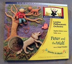 The Fantastic Five: Peter and the Wolf Mini Unit--link on this page to free printable finger puppets to go with a Peter and the Wolf lesson plan