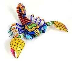 Oaxacan Animals | Oaxacan Wood Carvings Gallery Luis Pablo Scorpion | Oaxacan animals