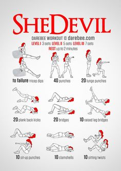 SheDevil Workout