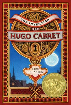 """Caldecott Honor artist Brian Selznick's has 284 pencil drawings and actual photos (an old train engine falling from upper story to street below, Harold Lloyd in """"Safety Lost"""", film stills) basing his story on facts. Automatons who could draw pictures, write poems, and sign the maker's name Maillardet, really existed, neglected in a museum."""