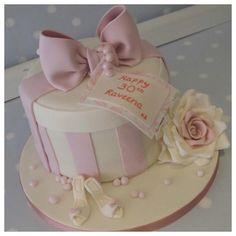 Raveena's 30th birthday cake