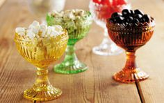A cute way to display summer fruits and candies, now 20% off! iittala Maribowls