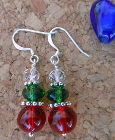 Christmas earrings on #tophatter @ 3PM EST http://tophatter.com/auctions/11065