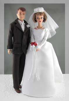 American Girl Barbie Doll (1965-1966) Wedding