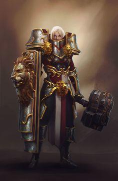 The Crusader, Maxence Bürgel on ArtStation at https://www.artstation.com/artwork/the-crusader-4da71931-3b58-417d-af8c-c70860b25ad0