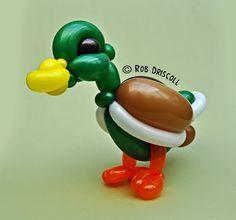 My Daily Balloon: 6th June - Mallard Duck