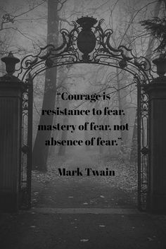 What truly scares you? #whysoscared #courage #fear #overcome #halloween