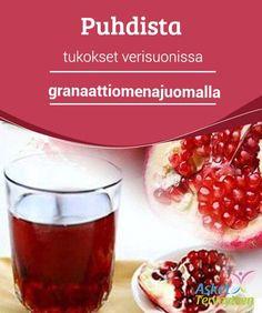 Puhdista tukokset verisuonissa granaattiomenajuomalla   Jos olet huolissasi #verisuonistostasi ja korkeasta kolesterolista, kokeile tätä terveellistä juomaa #granaattiomenasta verisuonten toiminnan #parantamiseen.  #Luontaishoidot
